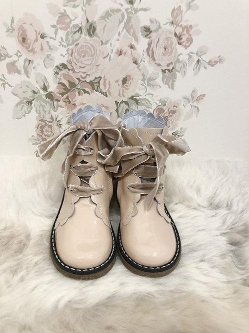 Boots Jamie Nude Vernis