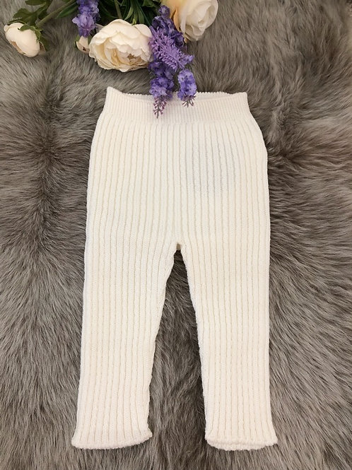 Cable Leggings Ivory