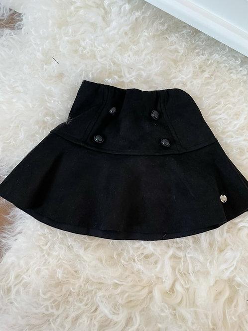 Paz Jersey Black Skirt