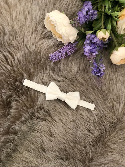 Bow Tie Baby Ivory