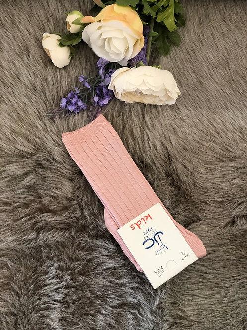 Rib Knee Socks Antico