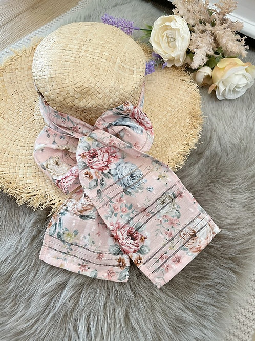 Boho Hat Romantic Pink