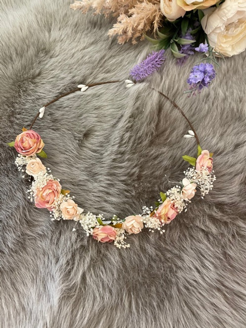 Flower Crown Small Pink