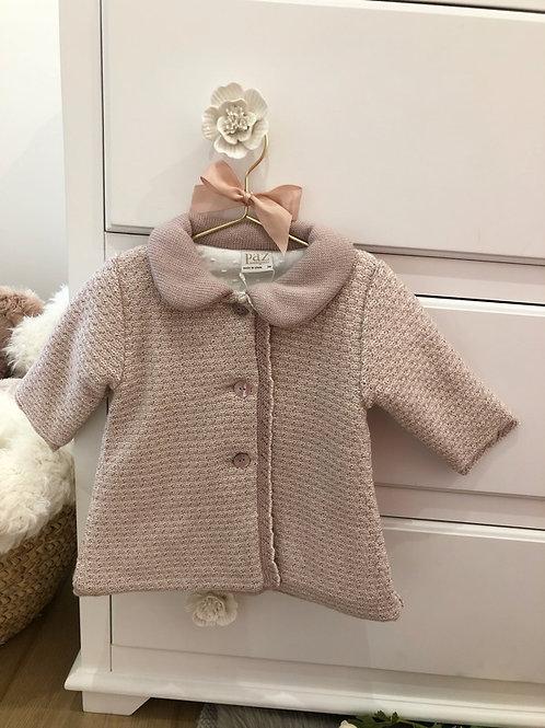 Coat Pink Knit