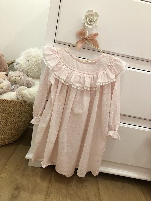 Night Gown Plumeti pink