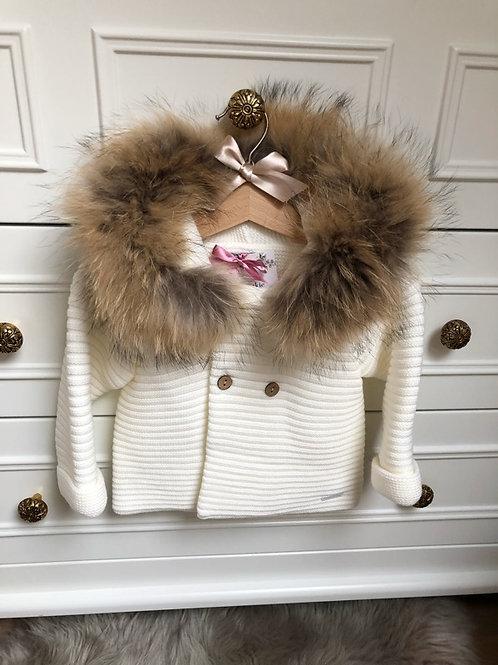 Knitted Ivory Jacket