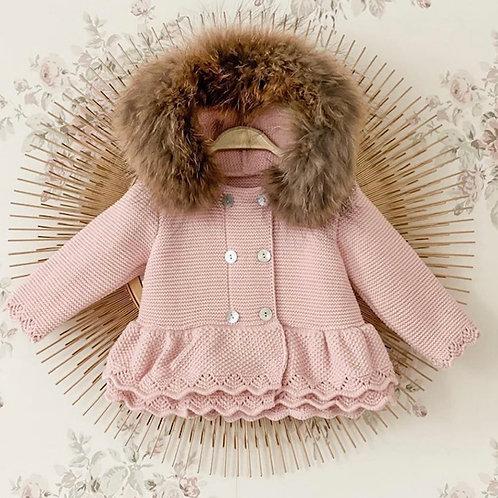 Pink Furry Jacket Sigar