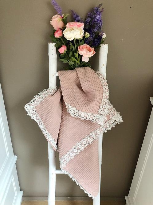 Baby Blanket Light Pink