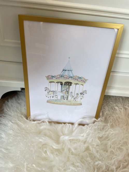 Frame Baby Carousel