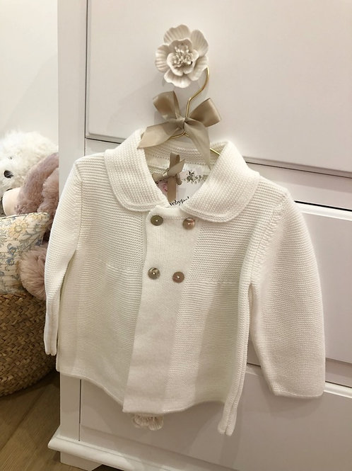 Ivory Knitted Jacket