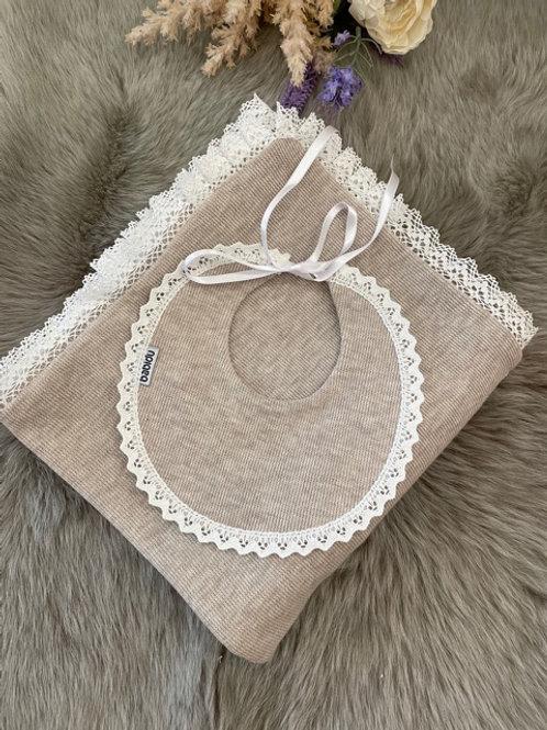 Bib Knit Beige