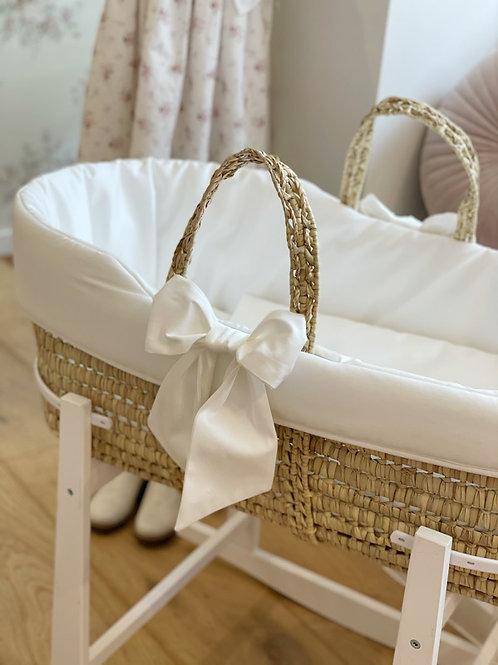 Moses Basket Ivory