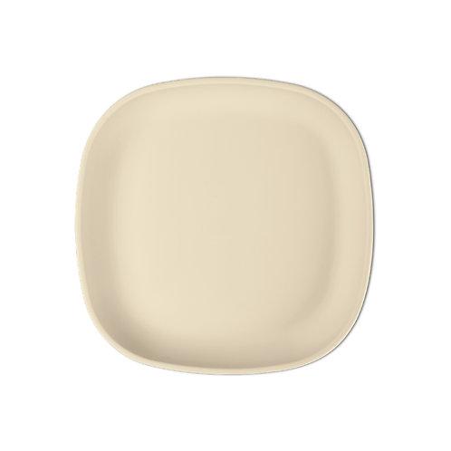 Plate Silicone Beige