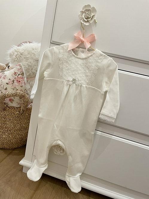 Pyjamas Ivory Lily Lace