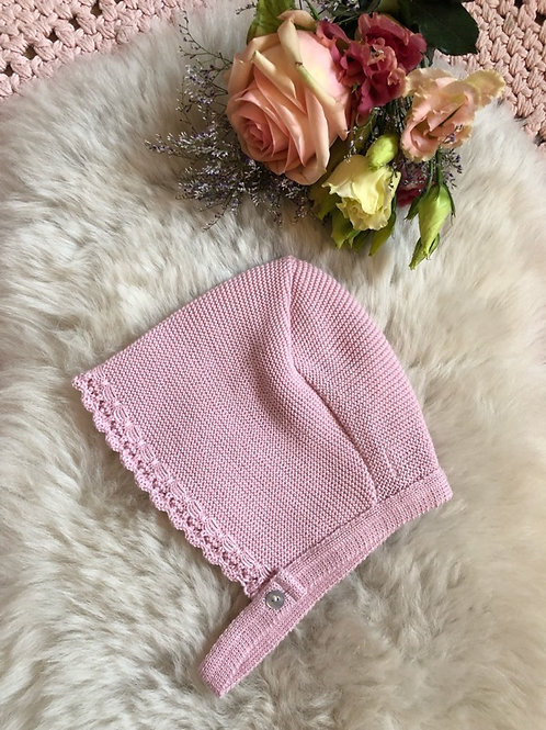 Bonnet Dusty Pink