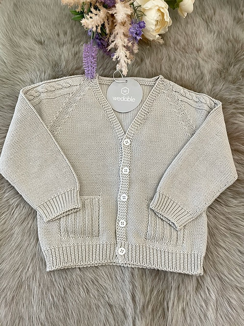 Cardigan Cable Sand