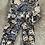 Thumbnail: Leggings Leopard Floral Beige