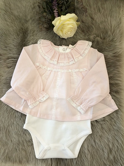 Body Blouse Marie soft pink