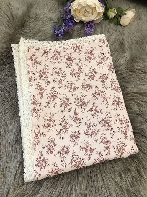Swaddle Floral Pink