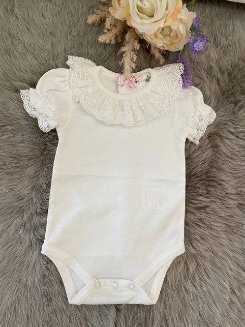 Body Josephine Ivory short sleeved