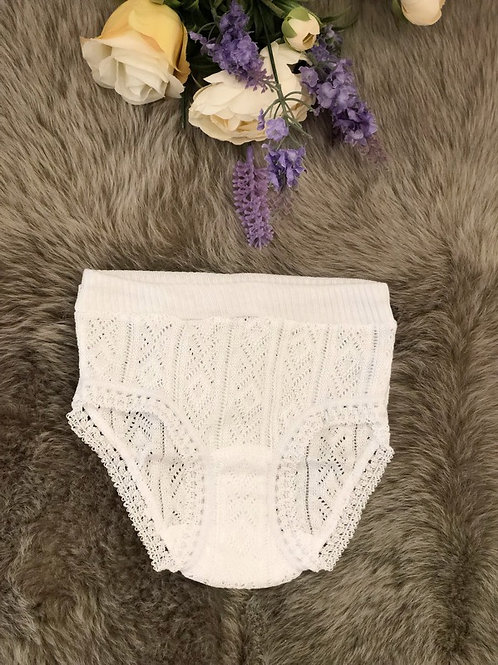 White Ajour Knickers