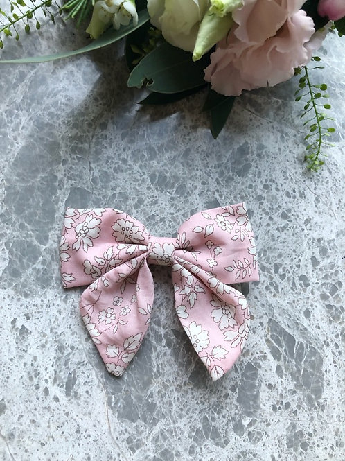 Bow Pink Liberty with Tails