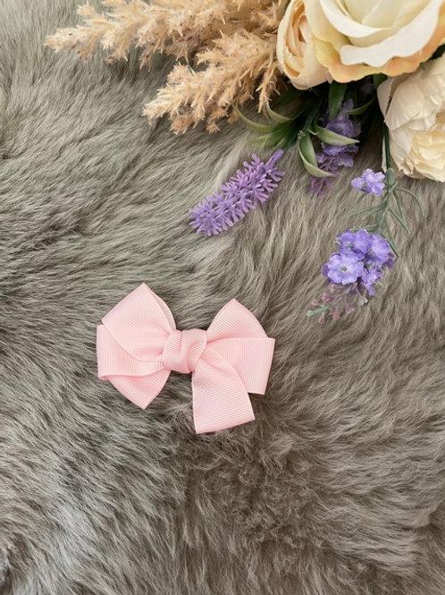 Grosgrain medium Bow Soft Pink