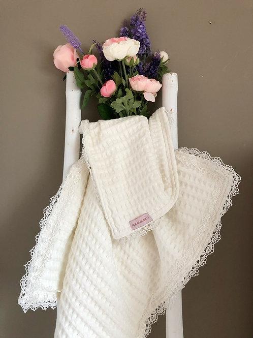 Baby Blanket Ivory