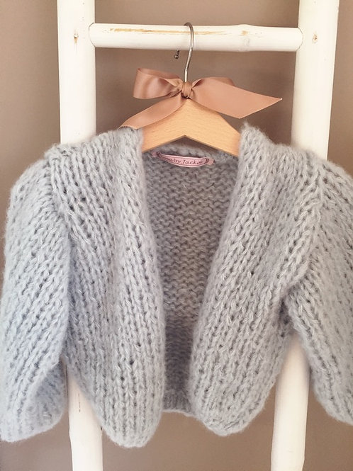 Knitwear Cardigan Ice Blue