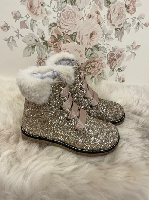 Boots Glitter Fur
