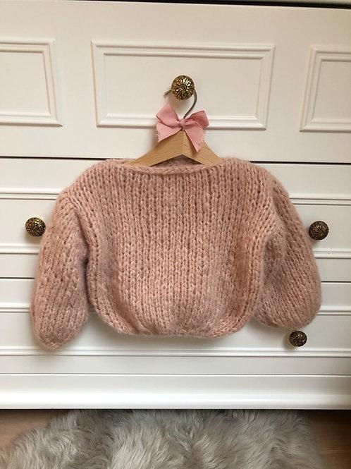 Knitted Sweater Alpaca-Silk