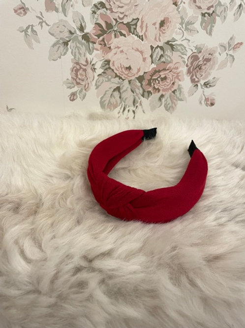 Hairband Knitted Burgundy