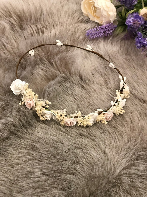 Flower Crown Ivory