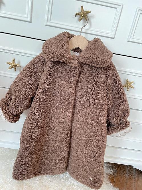 Paz Teddy Coat Camel