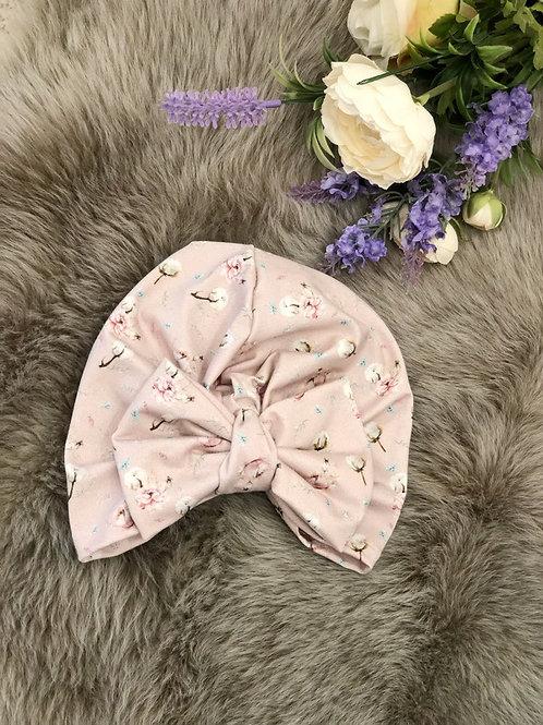 Turban Hat Blossom Pink