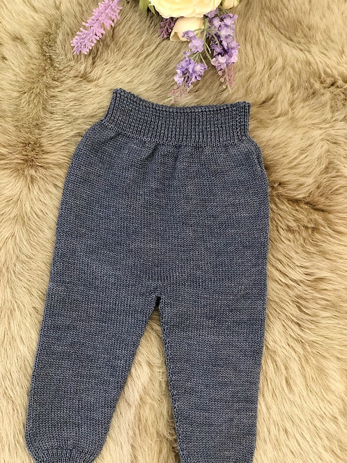 Indigo Knitted Leggings
