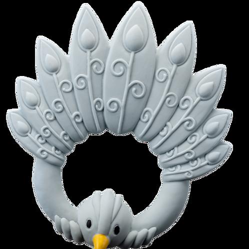Peacock Teething ring
