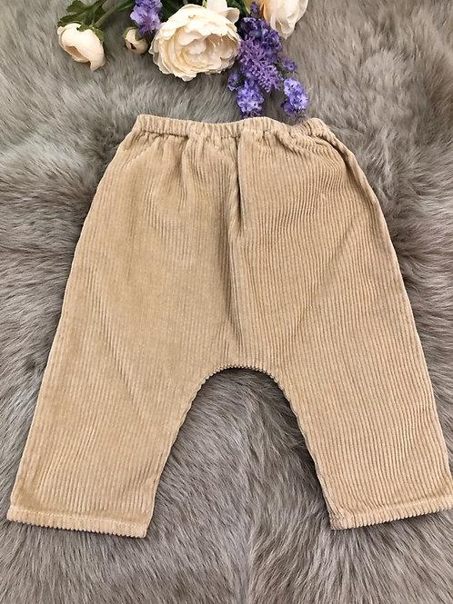 Trousers Velvet Beige