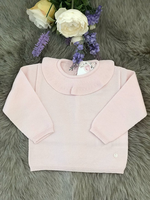 Sweater knitted Soft Pink