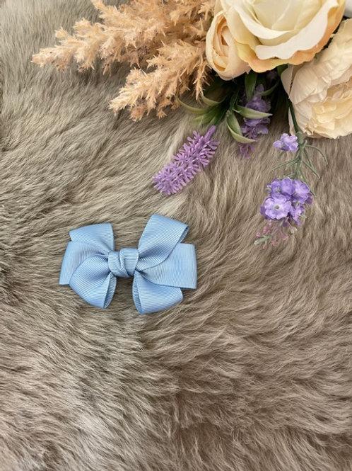 Grosgrain medium Bow Blue