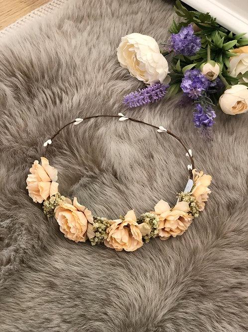 Flower Crown Peach