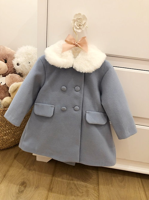 Coat Jackie Blue