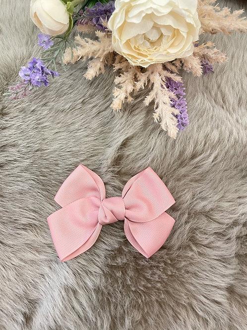 Grosgrain Dusty Pink Bow