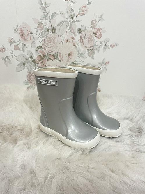 Rain Boots Silver