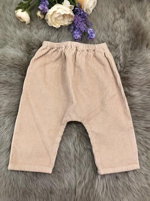 Trousers Velvet Nude
