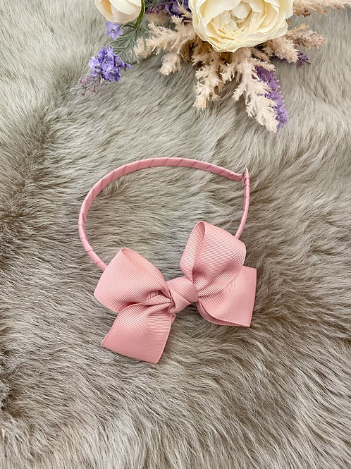 Hairband Dusty Pink Bow