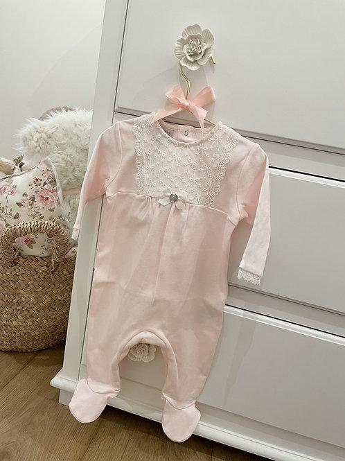 Pyjamas Pink Lily Lace