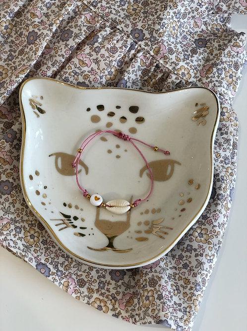 Bracelet Shell Pink