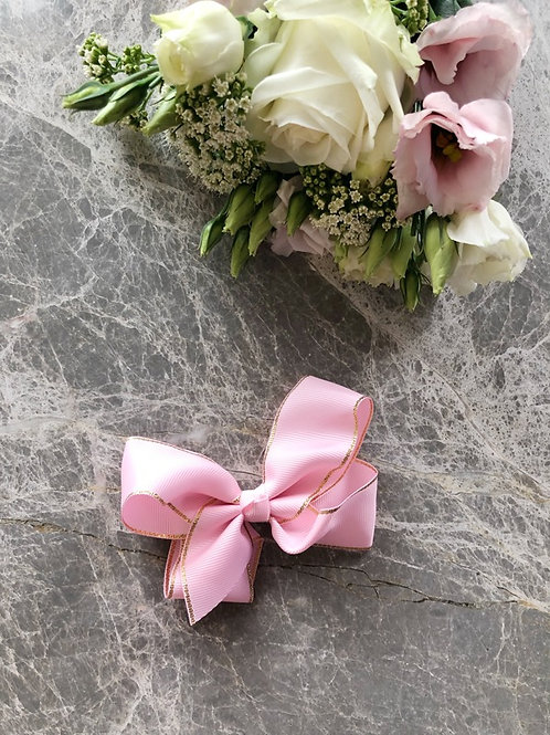 Grosgrain Pink Bow
