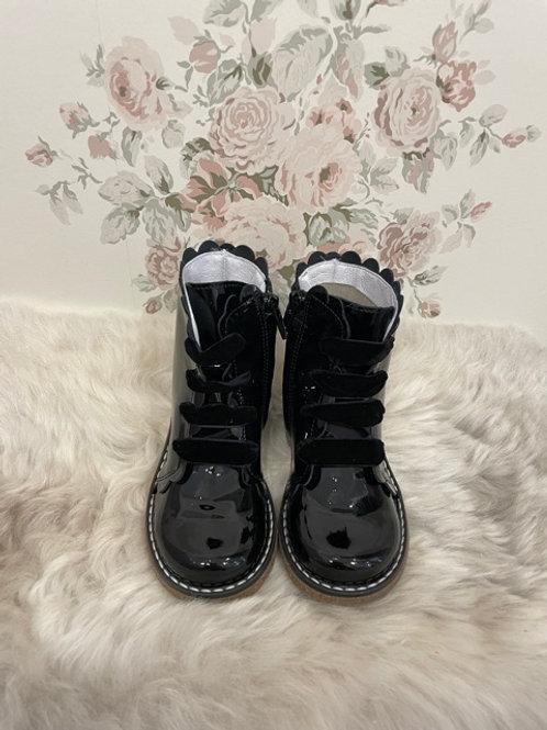 Boots Jamie Black Vernis